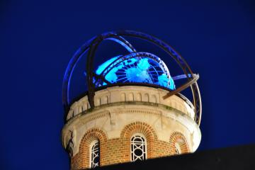 Sphère de la tour de la Maison de Jules Verne