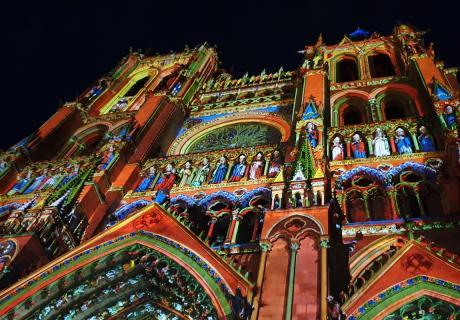Spectacle Chroma - Notre-Dame d'Amiens