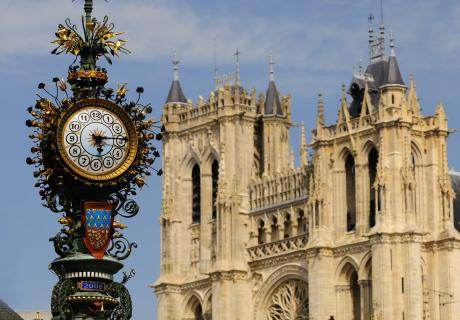 la cathédrale Notre-Dame d'Amiens