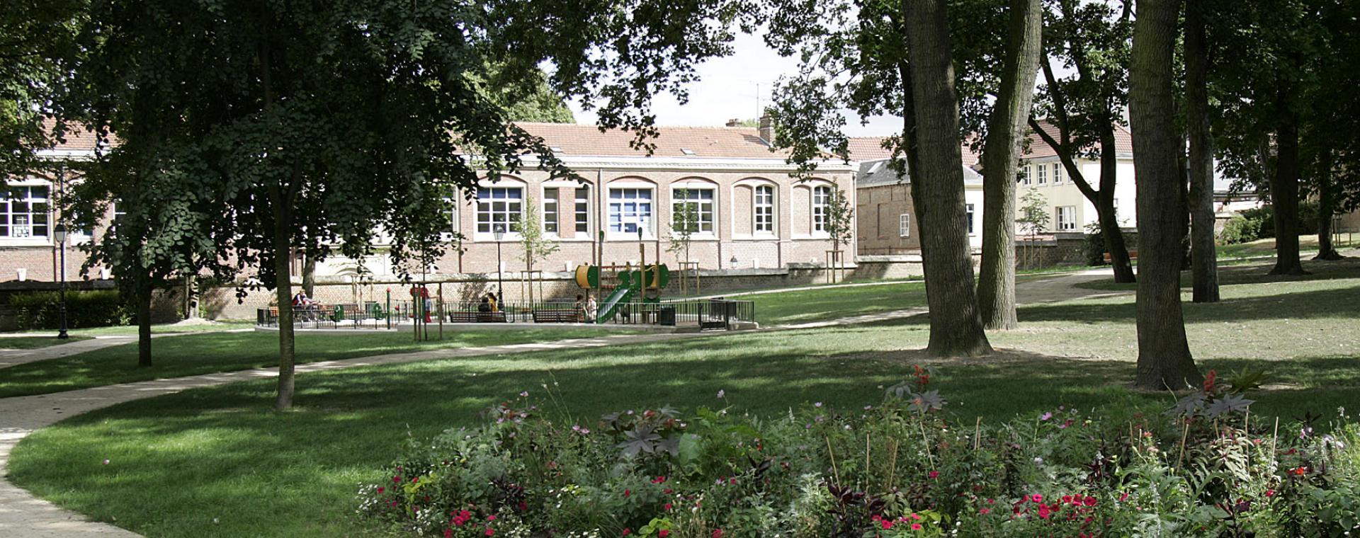 Photo du jardin de l'évêché