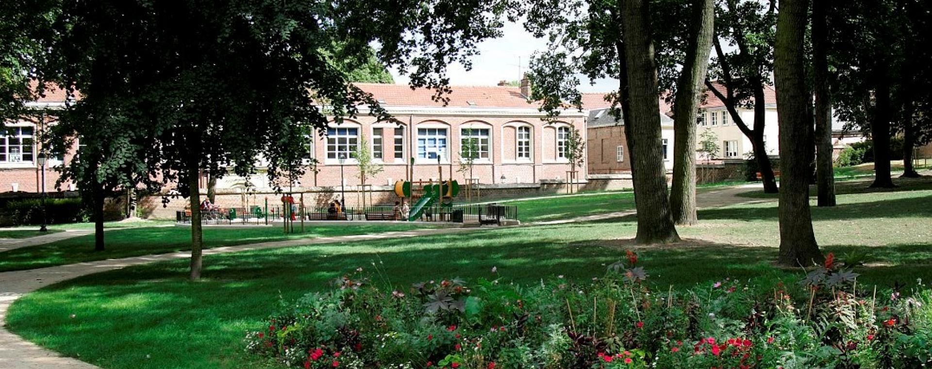 Jardin de l'Évêché