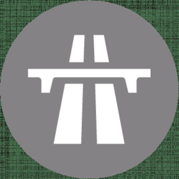 Pictogramme autoroute