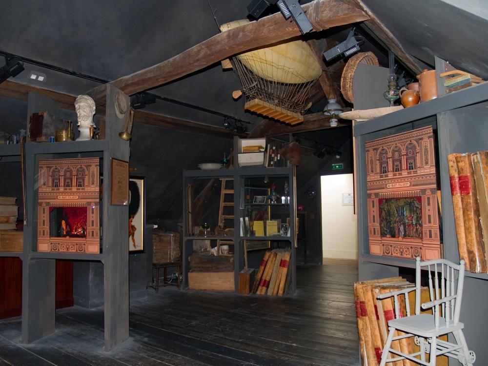 Le grenier de la maison de Jules Verne