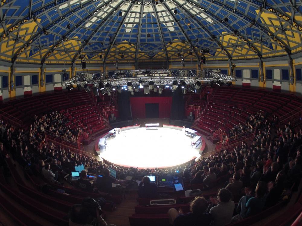 cirque Jules Verne intérieur