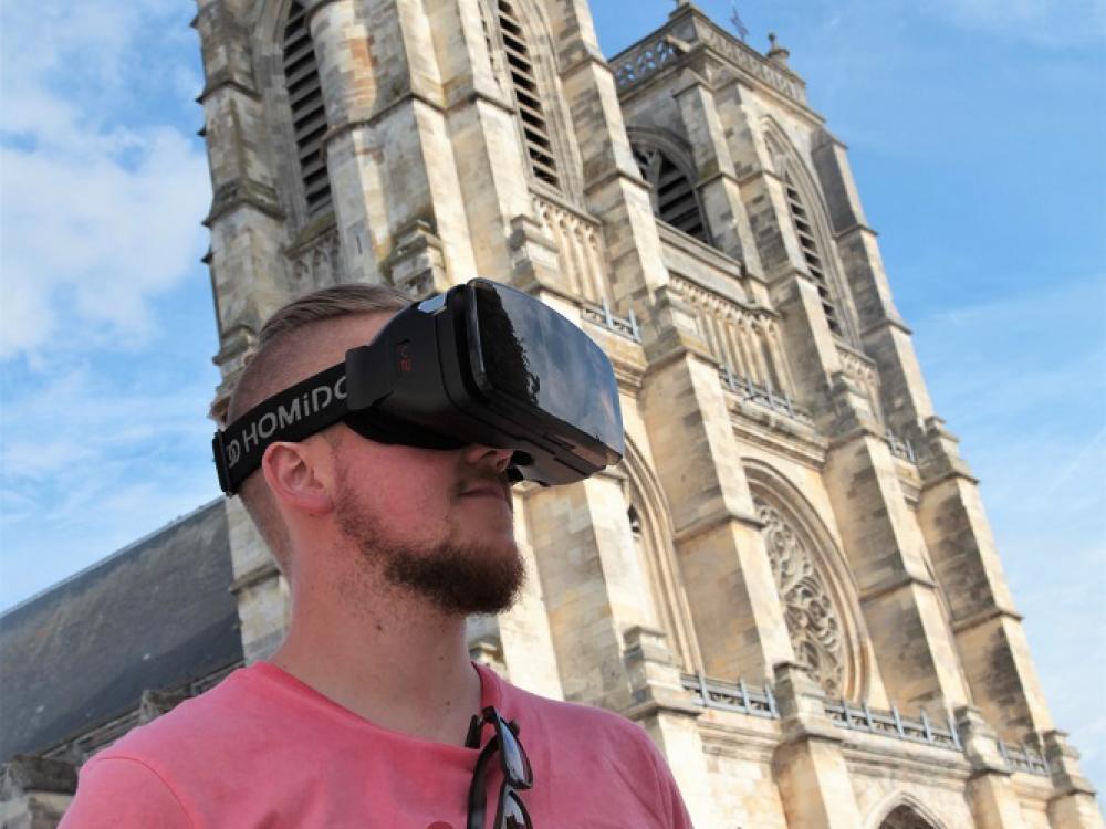 Visite virtuelle à réalité augmentée