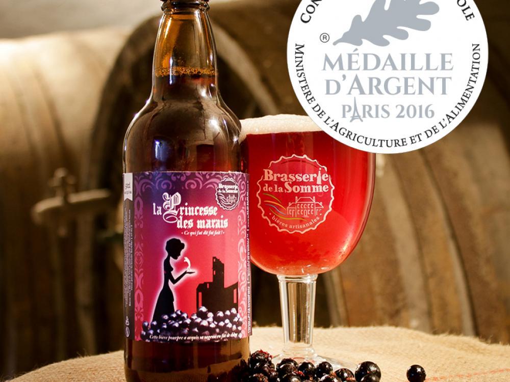 Bière Princesse des marais médaillée