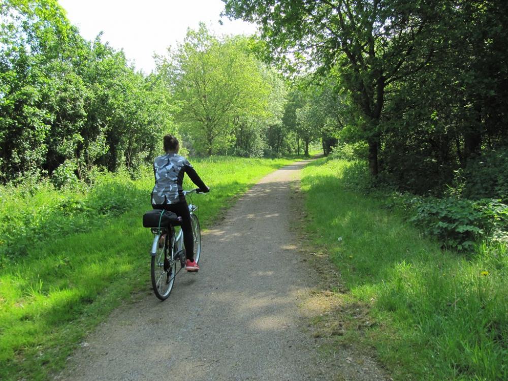 La Voie Verte à vélo