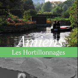 """Photo de la couverture de la brochure """"Amiens, regards sur les Hortillonnages"""""""