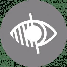 Pictogramme accessible aux personnes souffrant de handicap visuel