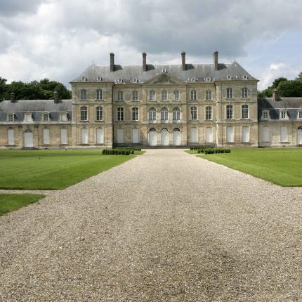 Photo de la façade du Château de Bertangles