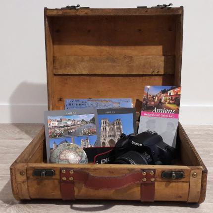 Photos de brochures de l'Office de Tourisme d'Amiens