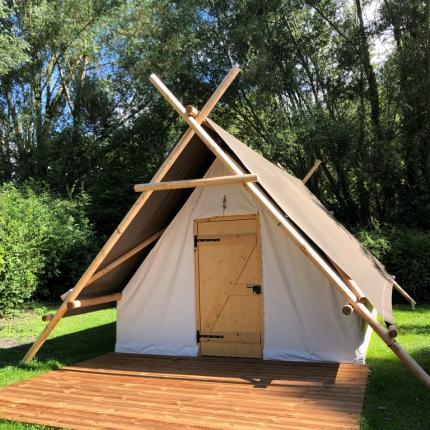Camping Les cygnes Amiens