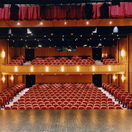 Photo de la salle de théâtre de la Comédie de Picardie