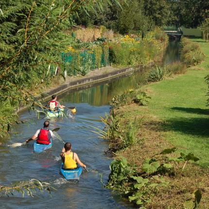 Visiter les Hortillonnages en canoë-kayak