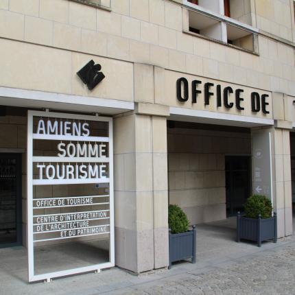 L'Office de Tourisme et des Congrès d'Amiens Métropole