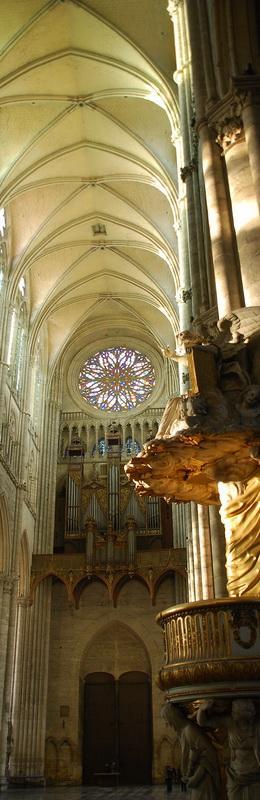 Cathédrale Notre-Dame d'Amiens (intérieur)